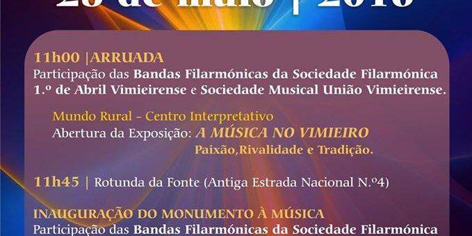 """Exposição """"A Música no Vimieiro: Paixão, Rivalidade e Tradição"""""""